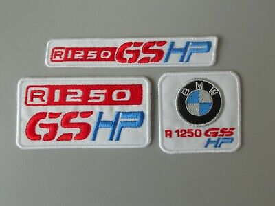 Patch Bmw R1250 Gs Hp Kit 3  Toppe Patch Ricamate Termoadesive