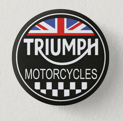 Pin Button Badge Ø38mm  Moto ( motorcycle ) TRIUMPH