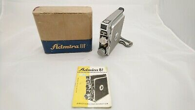 Admira 8f Motion Picture Camera Boxed With Instructions