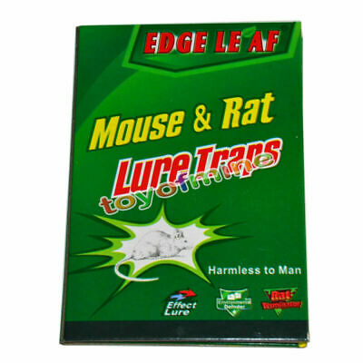 Trapper Max Sticky Glue Mice Traps Board Rodent Mouse Rat Snake Bugs Safe