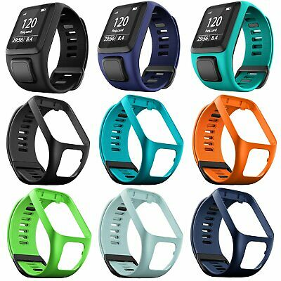 Silicone Sport Wrist Strap Band For TomTom Runner 2 3 Spark 3 Golfer 2 GPS Watch