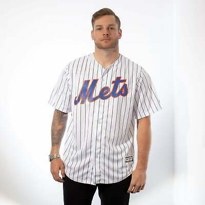 Majestic Athletic MLB New York Mets Cool Base Home Jersey