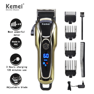 Professional Electric Men Hair Clipper Shaver Trimer Cutter Cordless Razor