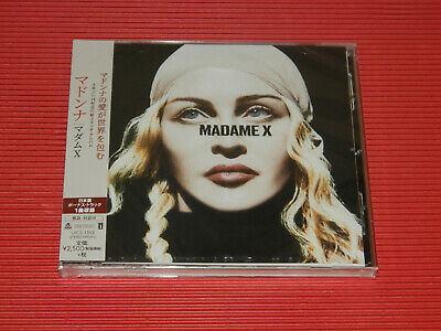 2019 JAPAN CD MADONNA MADAME X w/ BONUS TRACK FOR JAPAN Trackable Shipping