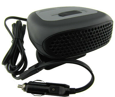 12v 150W Ceramic Car Fan Heater Defroster Portable Demister Deicer Windsheild