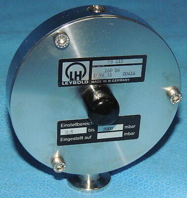 Leybold Vacuum PS 115 Pressure Switch DN 16 ISO-KF 160-04 / Warranty