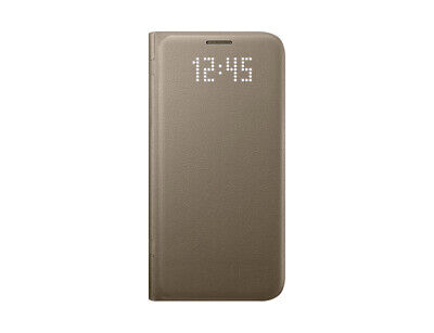 Samsung LED View Cover EF-NG930 fuer Galaxy S7, Gold