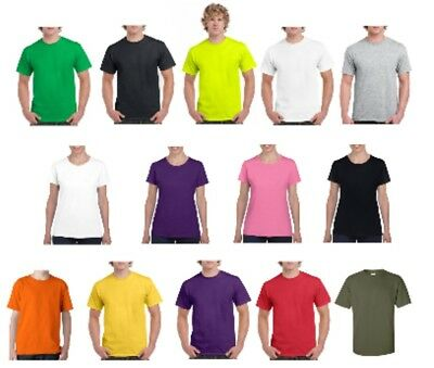 Gildan T-SHIRT blank plain tee S - 2XL Small Big Men's Cotton Premium Quality