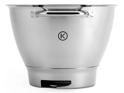 Kenwood Chef Stand Mixer Polished Stainless Steel Bowl KAT711SS