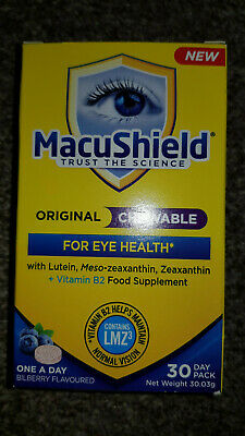 MacuShield - 30 capsules UK's most recommended eye supplement.