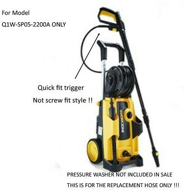 Aldi Workzone Electric Pressure Washer Replacement Hose model Q1W-SP05-2200A