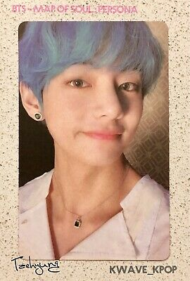 Bts 방탄소년단 Map Of Soul : Persona -Official Authentic Photo Card -Member Taehyung