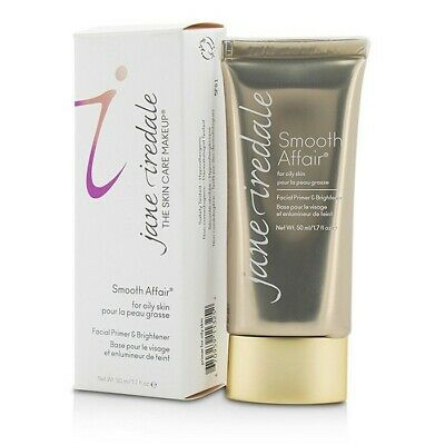 NEW Makeup Jane Iredale Smooth Affair Facial Primer & Brightener (For Oily