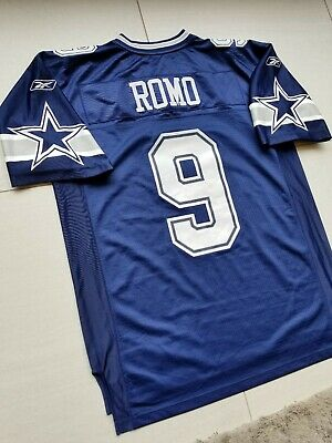 c488a750476 Dallas Cowboys Reebok NFL Football Jersey #9 Tony Romo Size Large Men's QB