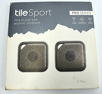 Tile Sport - Key Finder. Phone Finder. Anything Finder Graphite Pack of 2