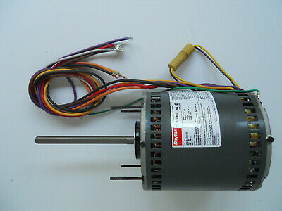 DAYTON 3LU88G- 3/4HP, 1075/4SPD, 208-230V Single Phase DIRECT DRIVE BLOWER MOTOR