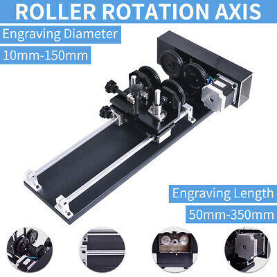 CNC Roller Rotation Axis for Cutting Machine Rotary Attachment Rotate Engraving