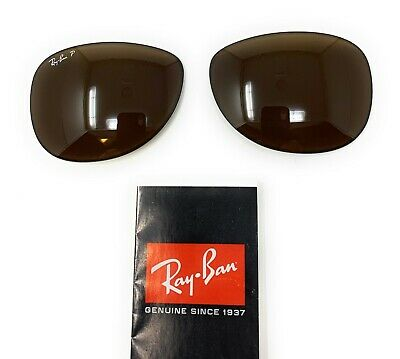 db12565a070b New Authentic RAYBAN Replacement Lenses RB3519 POLARIZED Brown 59mm