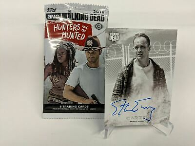 Walking Dead Hunters Hunted Autograph Card Signed by CARTER (Ethan Embry) CABP12