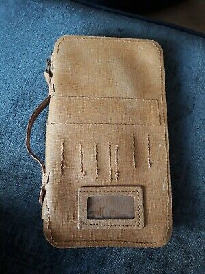 Leather tool wallet bag case BT PO BBC Toolmark for No3 Toolkit (Tools not inc)