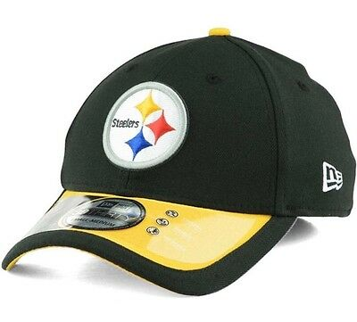 wholesale dealer 966b4 90a7f Pittsburgh Steelers New Era 39Thirty NFL On Field M L Fitted Cap Hat  CLEARANCE