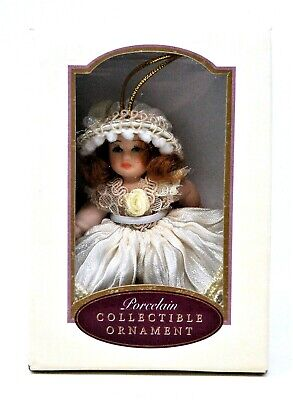 DG Creations Porcelain Doll Collectable Ornament Poseable Hand Painted Darling