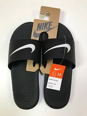 Nike Men's Kawa Slide Sandals Black NEW