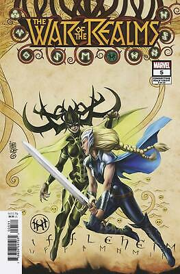 War of the Realms #5 CAMUNCOLI CONNECTING REALM VAR