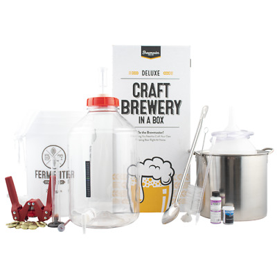 5 Gallon Home Brew Deluxe Starter Kit ~ Homebrew Making Beer, Wine, Cider, Mead