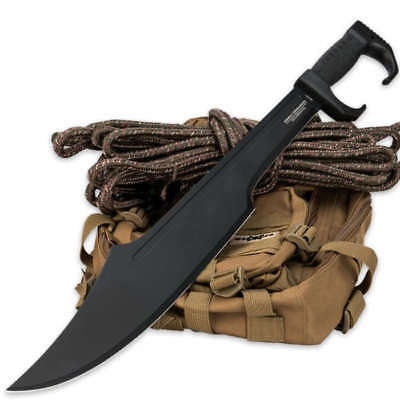 United Combat Commander Spartan Sword Knife Dual Edge Full Tang 1050 CS 3151 New