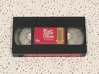 A Smoky Mountain Christmas Video Tape VHS Hand-crafted instruments Brentwood