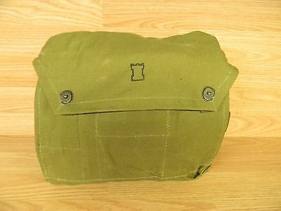 Finnish Military Un-Issued Shoulder/Gas Mask Bag With Carrying  Strap