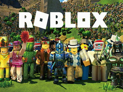 V8924 Roblox Characters Video Game Art Awesome Wall Print POSTER UK