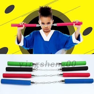 New Kids Entry Level Training Practice Foam Nunchucks Nunchaku AU