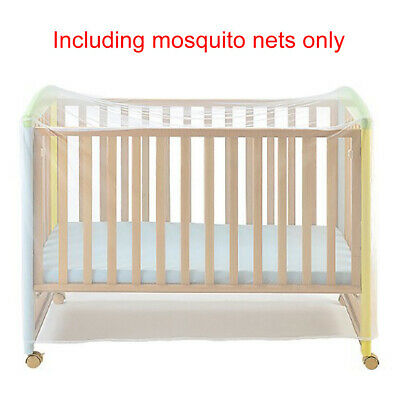 Mosquito Net Foldable Baby Bedding Cot Portable Netting White Home Crib Cover