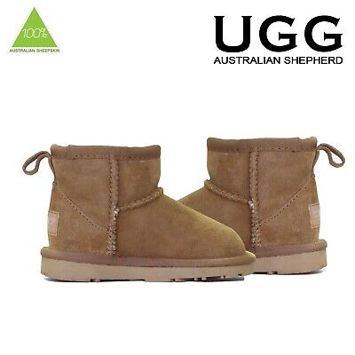 Kids UGG Boots Child Mini Classic Premium Australian Sheepskin Genuine