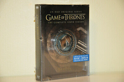 Game of Thrones Season 6 - Limited Edition Steelbook (Blu-Ray, Region A US/CA)
