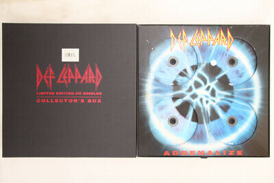 4CD Def Leppard Adrenalize Singles Collection 86658728 BLUDGEON RIFFOLA UK