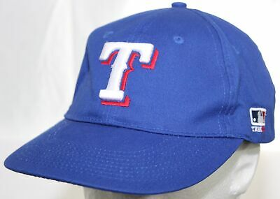 factory price c0d31 a470c Texas Rangers Team MLB Strapback Cap Blue Hat OC Sports Outdoor Cap OSFM 1  Size