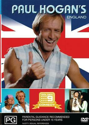 Paul Hogan's England - New & Sealed Dvd Free Local Post