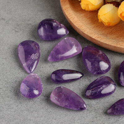 Rock Purple Polished Gemstone Natural Amethyst Crystal Quartz Drip Stone