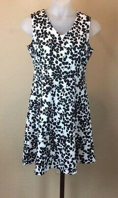 e9763fdbc6c Talbots Womens Size Large Sleeveless Dress Floral Zip Back Career Church  Dresses