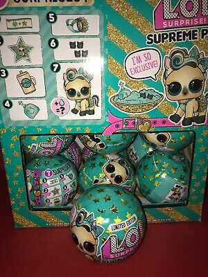 LOL Surprise SUPREME PET Ball LIMITED EDITION LUXE PONY Authentic
