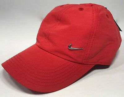 cheap for discount 30d8d 4c579 Nike Youth Metal Swoosh Heritage 86 Cap Red 405043-657 Youth Unisex One Size