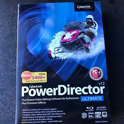 Power Director Video Editing Software (Windows) and key