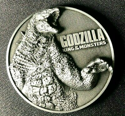 Godzilla King of the Monsters Japanese Limited Edition collectible coin medal