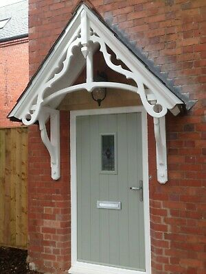 Timber door canopy,Victorian style wooden door canopy kit/ entrance porch kit