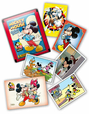 lot 4 stickers Panini MICKEY MOUSE 90 ANS neuf
