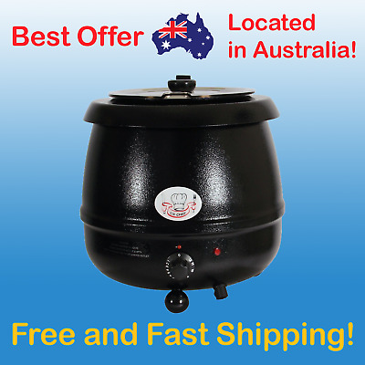 COMMERCIAL Soup Kettle 10L Warmer Stainless Steel