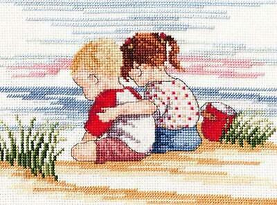 All Our Yesterdays Counted Cross Stitch Kit – Sibling Love